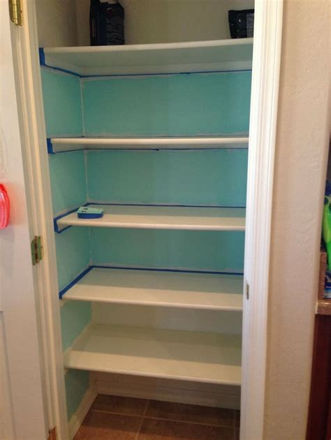 Painted Pantry by Painted Pantry Shelves House Ideas