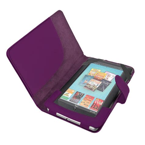 the color purple book barnes and noble leather cover sleeve for nook color tablet barnes