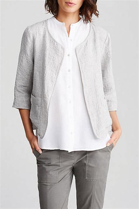 Jaket Bb Redmove By Fidhe Shop eileen fisher neck jacket from district of columbia
