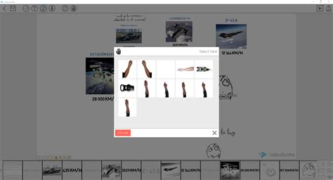 videoscribe anywhere tutorial changing hands or adding custom hands videoscribe