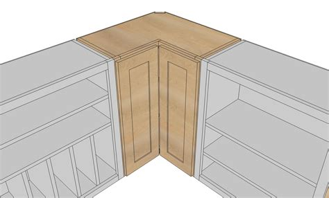 how to build a blind corner cabinet a step by step photographic woodworking guide page 73