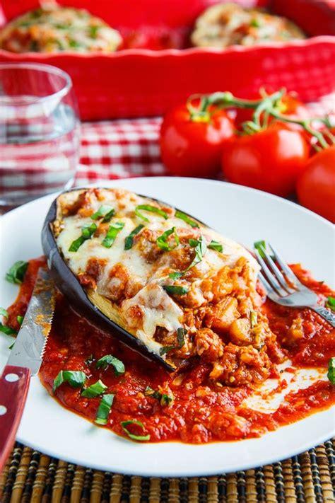 eggplant boats eggplant parmesan boats on closet cooking