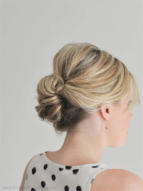 updo hairstyles for hair easy easy updo hairstyles for thin hair
