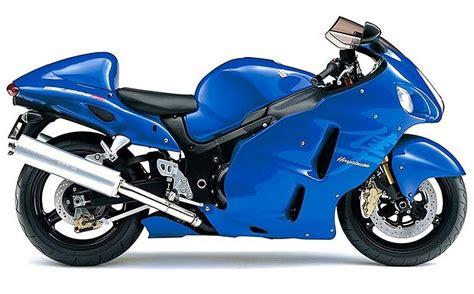 Blue Suzuki Suzuki Gsx 1300r Hayabusa 2007 Blue Decal Kit By Motodecal