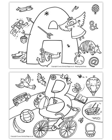 abc phonics coloring pages i spy alphabet colouring pages abc coloring pages
