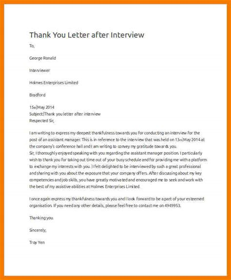 thank you letter after exles thank you letter after budget analyst 28 images top 10