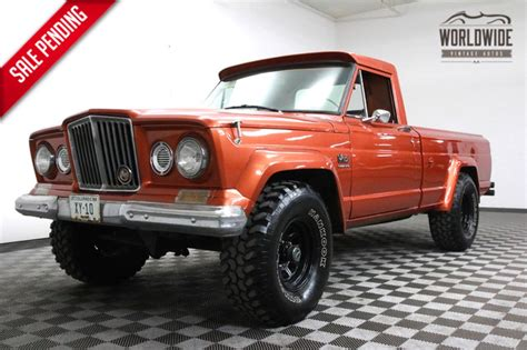 1967 jeep gladiator interior 1965 jeep gladiator j200 for sale