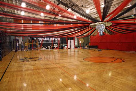 themes for college dances decorating a gym for prom google search prom ideas
