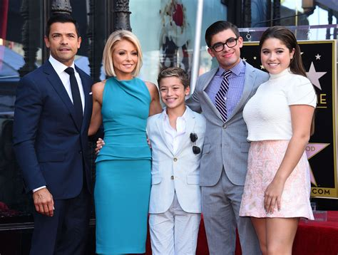 Pictures Of Kelly Ripas Children | related keywords suggestions for kelly ripa and family