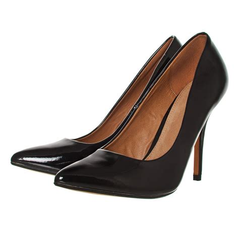 Stilleto Shoe pointed toe stiletto high heel court shoe