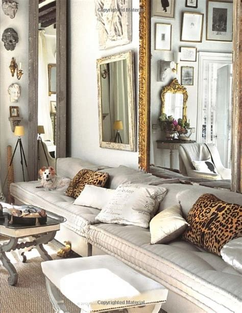 animal print home decor interior design trend leopard accents tatty lace