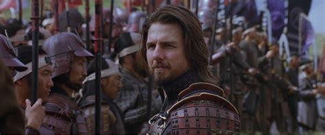 film tom cruise ultimo l ultimo samurai wikipedia