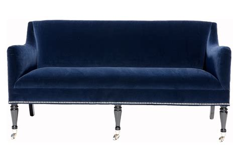 blue sectional sleeper sofa tufted velvet black