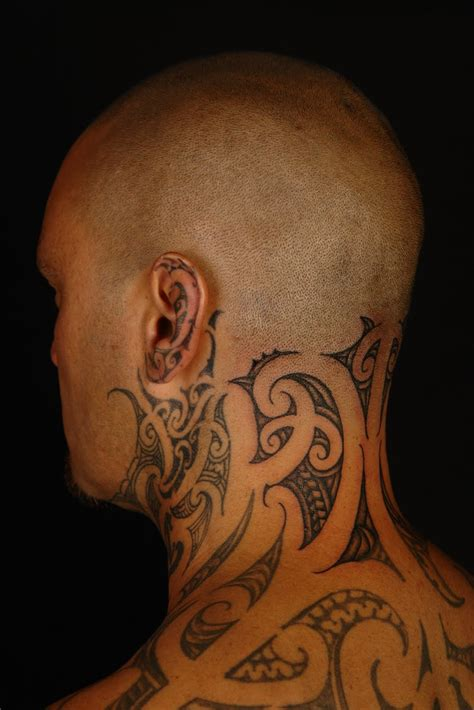 tattoos for men on back of neck 69 innovative neck tattoos for