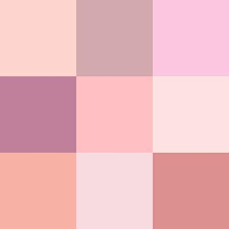 pink color scheme pink color schemes offering symbolic and romantic interior