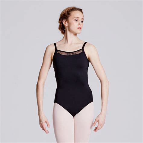 Lace Back Camisole bloch eyal black lace back camisole leotard the