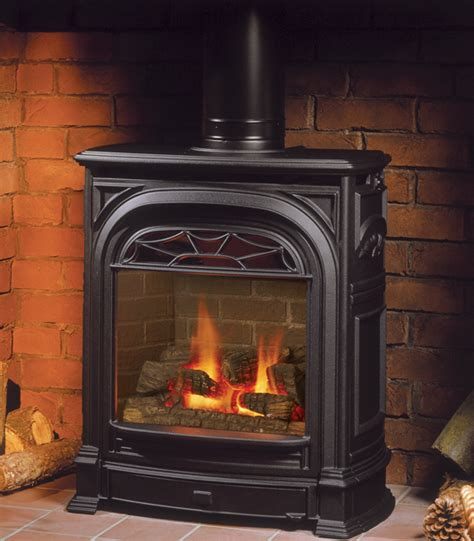 Free Standing Gas Log Fireplace by Valor Gas Stoves Pellet Stove Junction