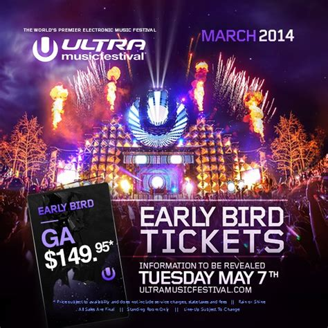 Ultra Music Festival Ticket Giveaway - ultra annouces early bird ticket sales edm assassin