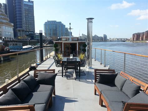 london house boat bespoke luxury floating penthouse in london idesignarch interior