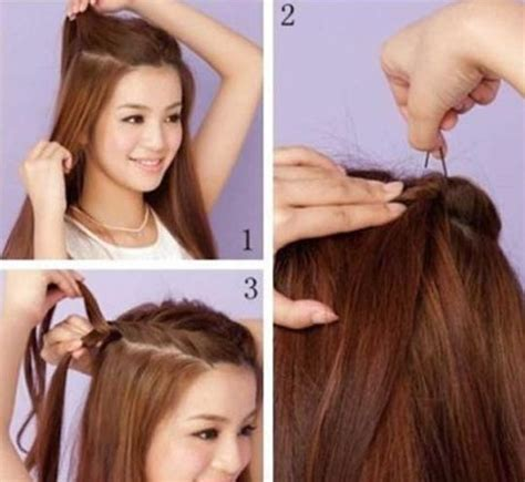 3 easy everyday ponytail hairstyles for medium to long hairstyles for everyday hairstyles