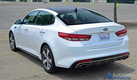 kia optima sx turbo review 2016 kia optima sx turbo review test drive