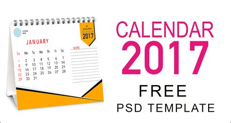 best desk calendar 2017 desk calendar 2017 psd template 22 x17 free download