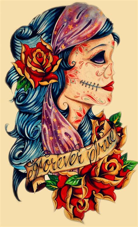 gypsy girl tattoo design images designs