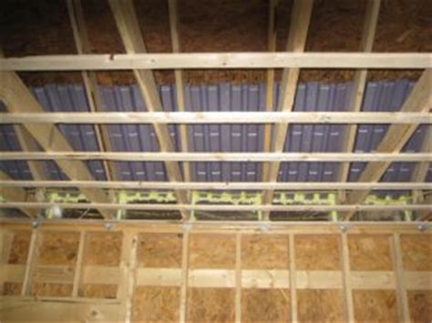 Strapping Ceiling For Drywall by How To A Ceiling Before Installing Drywall One