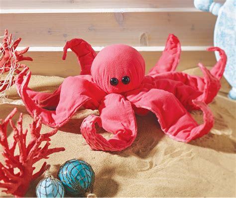 no sew crafts for no sew fleece octopus