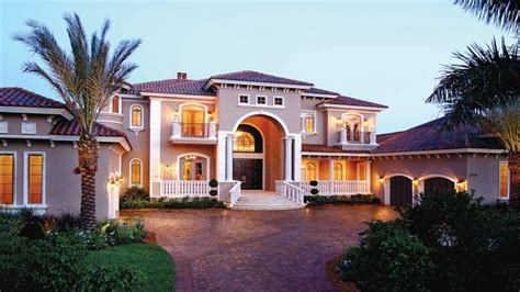 spanish villa style homes mediterranean style home plans one story mediterranean