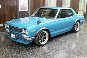 Nissan Skyline 1972 Turbo Restomod 1972 Nissan Skyline Bring A Trailer