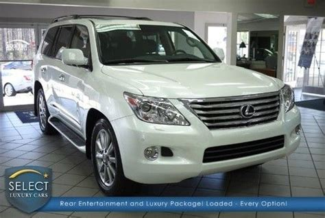 2007 lexus lx470 for sale by owner sell used 2007 lexus lx 470 luxury suv one owner clean low