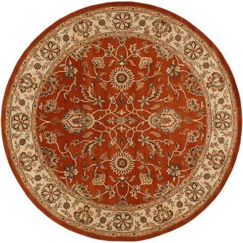 Area Rugs 8 X 8 Artistic Weavers Middleton Rust 8 Ft X 8 Ft Indoor Area Rug Awes2046 8rd The