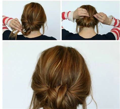 cute hairstyles you can sleep in 2 minute low braided bun easy back to school hairstyles