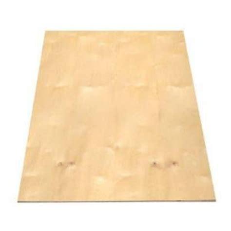 1 2 in 4 ft x 8 ft maple birch hardwood plywood 598110