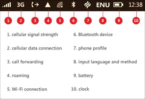 windows top bar mobile internet symbols meaning of 2g 3g e h h 4g g