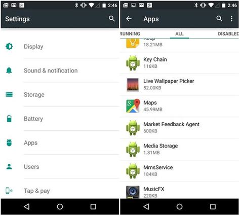 settings app for android how to increase the ram of your android smartphone androidpit