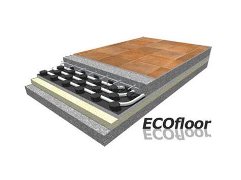 pavimento radiante dwg pannello radiante a pavimento in eps ecofloor rossato