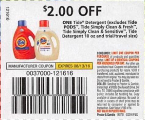 tide printable coupons 2 00 off hot upcoming tide coupon tide 50 oz as low as 1 00