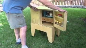 build a portable c kitchen for your next picnic or