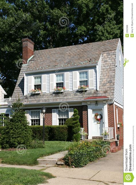 two story colonial two story colonial home royalty free stock photos image