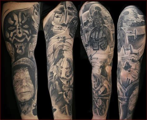 star wars sleeve ink me pinterest