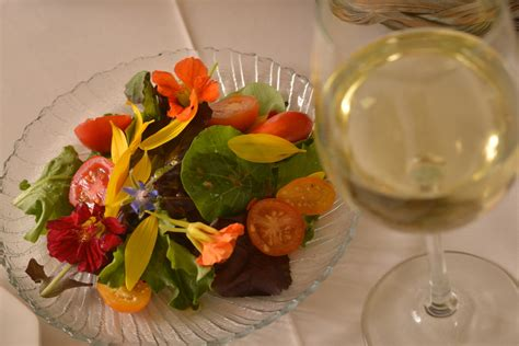 flower food recipe scrumptious edible flowers green salad recipe urbanherbal