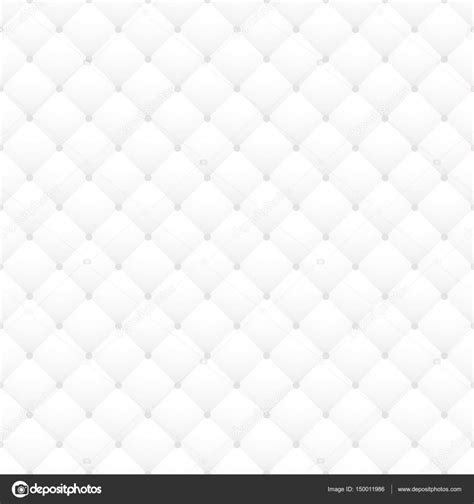 white leather upholstery vector seamless pattern quilted