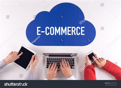 e commerce stock photo image cloud technology with a word e commerce stock photo