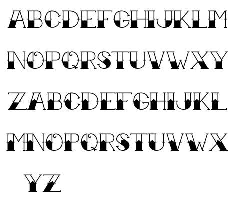 tattoo fonts with color font color