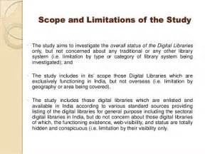 Sample Scope And Limitations In Thesis Pin Example Of Scope And Delimitation For Case