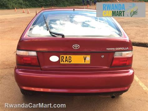 Toyota Corolla Hatchback 1994 Used Toyota Hatchback 1994 1994 Toyota Corolla Rwanda