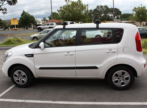 Kia Soul Roof Bars Kia Soul Roof Rack Cross Bar Yakima Whispbar Roof Rack