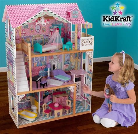 barbie doll house amazon kidkraft barbie dollhouse with furniture 100 shipped coupon saving family